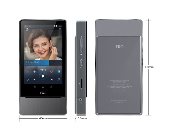 Fiio X7 VU Size