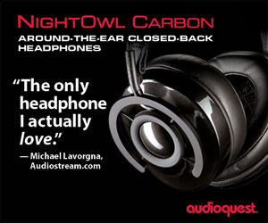AudioQuest Standard Banner from august 1 till end Of January 2020