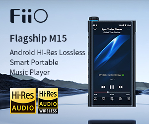 Fiio std Banner M15 Till End May 2020