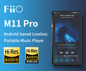 Fiio std Banner M11PRO Till End May 2020