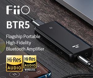 Fiio std Banner BTR5 Till End May 2020