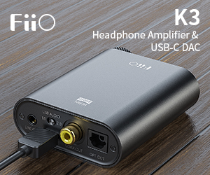 Fiio std Banner K3 Till End May 2019