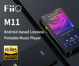 Fiio std Banner M11 Till End May 2020