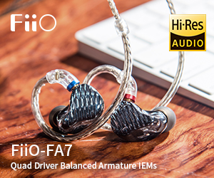 Fiio FA7 from 281218 till end May 2019
