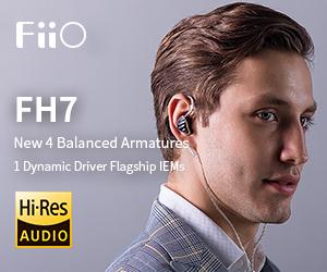 Fiio FH7 from June 1 2019 tem May 31