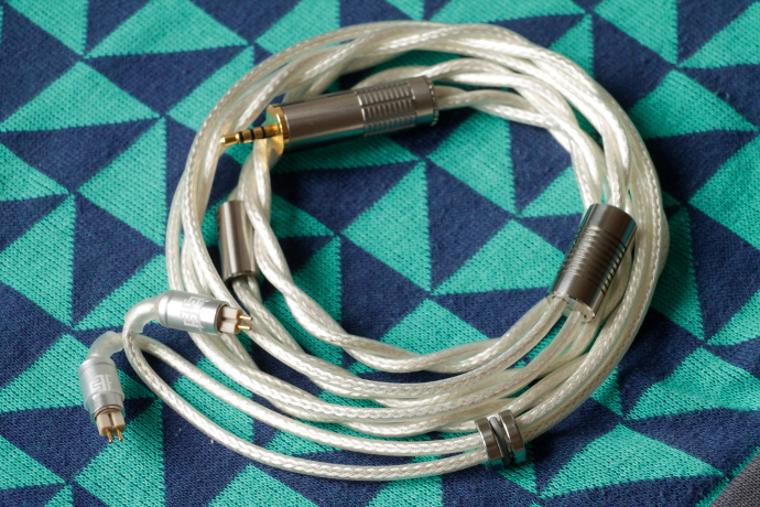 Double Helix Cables Clone Silver