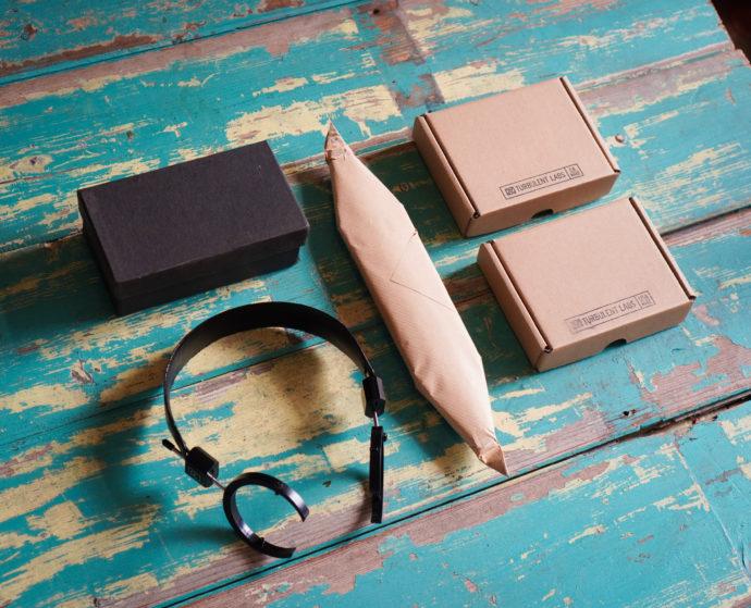 Turbulent Labs custom headphone parts