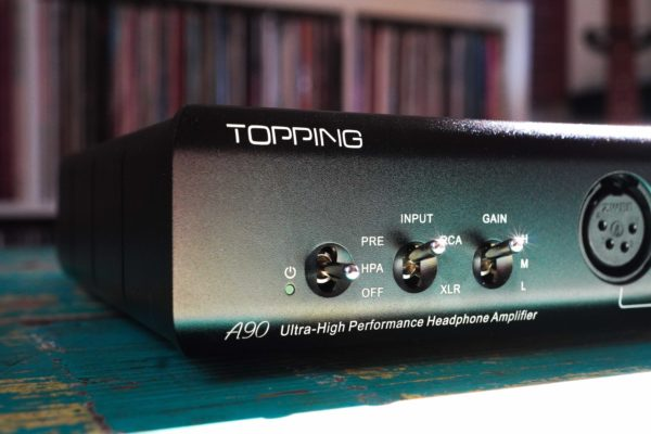 Topping A90 headphone amplifier