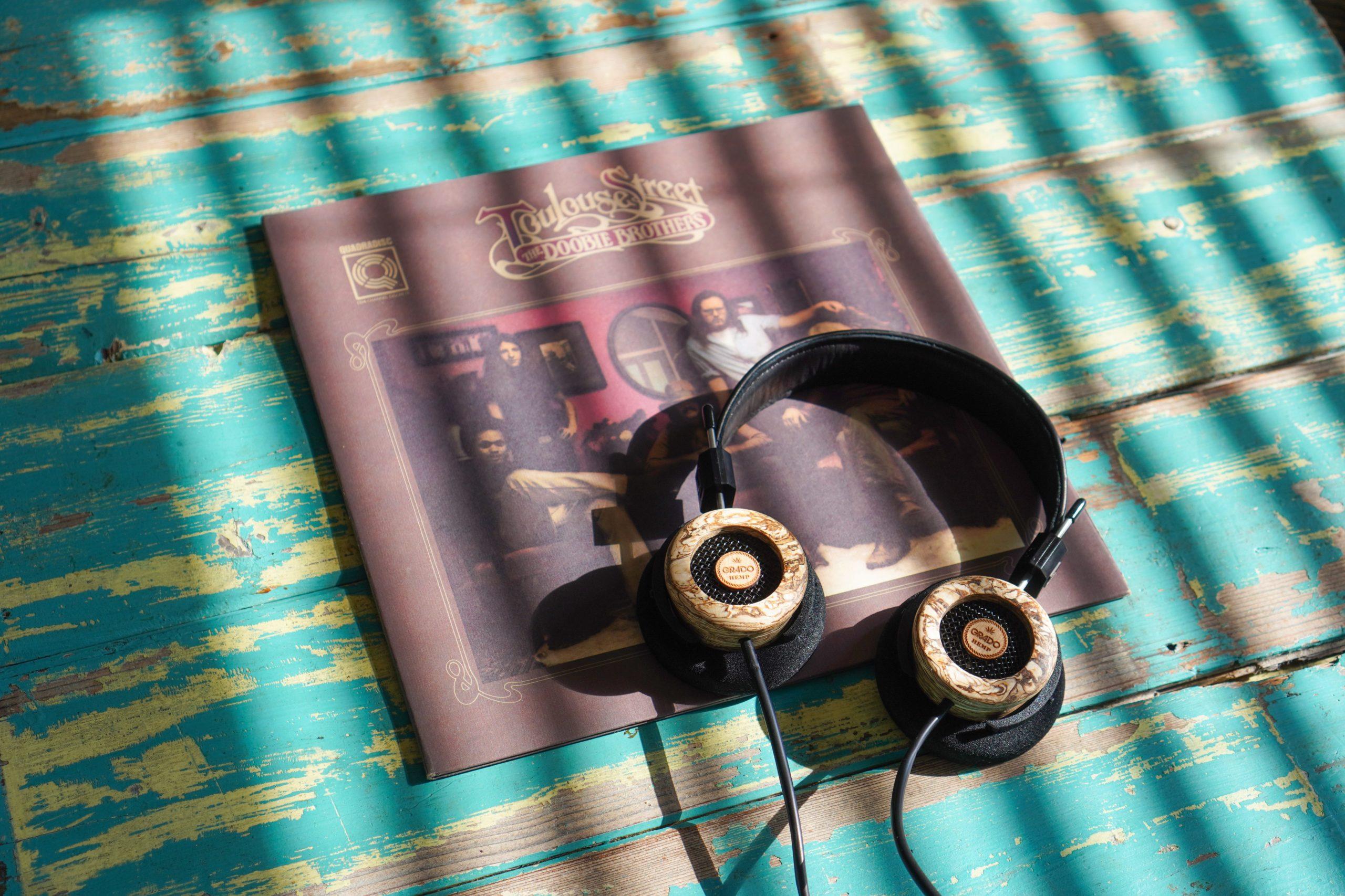 The Hemp Headphone by Grado Labs.